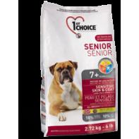 1st CHOICE Для взрослых собак всех пород старше 8 лет Ягненок/рыба/коричневый рис 2,72 кг