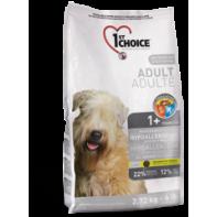 1st CHOICE Для взрослых собак всех пород Гипоаллергенный 12 кг