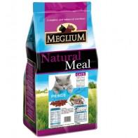 MEGLIUM ADULT Корм Для взрослых кошек с чувствительным пищеварением Рыба 1,5кг