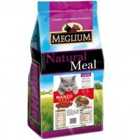 MEGLIUM ADULT Корм Для взрослых привередливых кошек Говядина 1,5кг