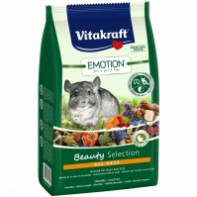 Vitakraft Корм Emotion Beauty Selection для шиншилл 600 гр