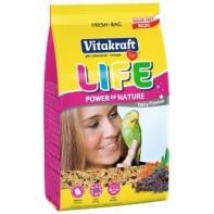 Vitakraft  Life Power Nature Корм  для волнистых попугаев 800 гр