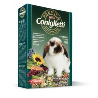 Padovan Premium coniglietti Комплексный корм с кокцидиостатиком для декоративных кроликов 2 кг