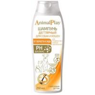 Animal Play Дегтярный Шампунь для Собак и Кошек 250 мл