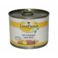 Dr. ALDER`S Консервы для собак Деревенское мясо Птица/рис/овощи 195 гр