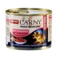 Animonda Carny Консервы для котят 200 гр Говядина/сердце индейки