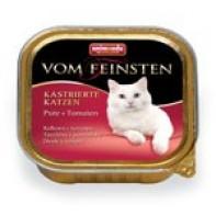 Animonda Pate паштет для кастрированных кошек 100 гр Индейка/томаты