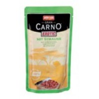 AnimondaGran Carno Exotic Пауч для собак 125 гр Мясо страуса