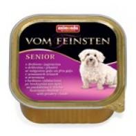 Animonda Vom Feinsten Консервы для собак старше 7 лет 150 гр Домашняя птица/ягненок