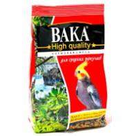 ВАКА High Qality корм для средних попугаев 500 гр