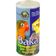 ВАКА  Люкс для средних попугаев 900 гр
