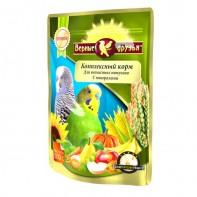 Верные друзья Корм для волнистых попугаев с минералами 500 гр