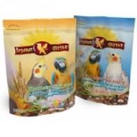 Верные друзья Корм для средних попугаев с минералами 500 гр