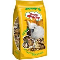 Зоомир Флинт Корм для средних и крупных попугаев 500 гр