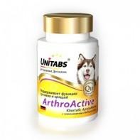 Unitabs АртроАктив с глюкозамином Для собак 100 таб.