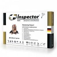 Inspector Капли от экто- и эндопаразитов Для собак 1-4 кг