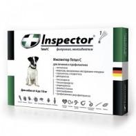 Inspector Капли от экто- и эндопаразитов Для собак 4-10 кг