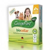 GreenFort Neo Ошейник от блох и клещей Для кошек и собак мелких пород 40 см