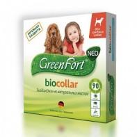 GreenFort Neo Ошейник от блох и клещей Для собак средних пород 65 см