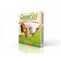 GreenFort Капли от блох Для собак мелких пород 2-10 кг (3 пипетки)