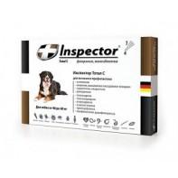 Inspector Капли от экто- и эндопаразитов Для собак 40-60 кг