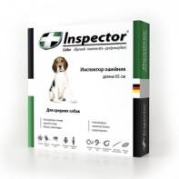 Inspector Ошейник от экто- и эндопаразитов Для собак 65 см
