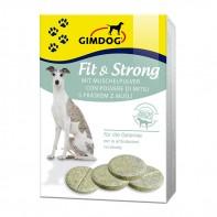 Витамины с порошком раковин Новозеландских зелёных мидий для собак Gimdog «Fit&Strong»