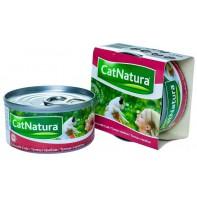 Cat Natura консервы для кошек тунец с крабом 85г