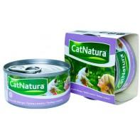 Cat Natura консервы для кошек тунец с манго 85г СКИДКА 75%