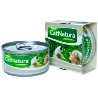 Cat Natura консервы для кошек тунец с мидиями 85г СКИДКА 75%