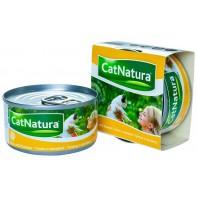 Cat Natura консервы для кошек тунец с папайей 85г СКИДКА 75%