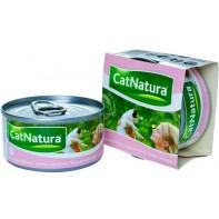 Cat Natura консервы для кошек тунец с лососем 85г