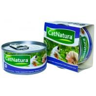 Cat Natura консервы для кошек тунец с морским окунем 85г СКИДКА 75%