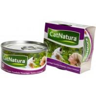 Cat Natura консервы для кошек тунец с тилапией 85г