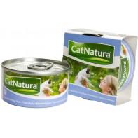 Cat Natura консервы для кошек тунец со снетком 85г СКИДКА 75%