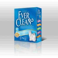 EVER CLEAN ES Unscented без ароматизатора 6 кг голубая полоска