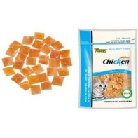 Wanpy Cat лакомство куриные кубики 100 г