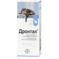Bayer Дронтал для кошек 20 таб.