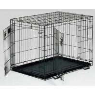 Midwest Life Stage клетка 56х33х41h см черная 2 двери