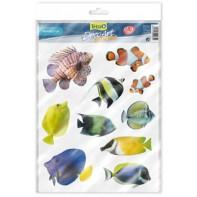 "Tetra Deco Art набор наклеек ""Морские рыбы"" СКИДКА 25%"
