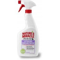 8in1 Litter box odor destroyer спрей для устранения запаха кошачьего туалета 709 мл