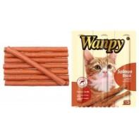 Wanpy Cat лакомство палочки из лосося 3х10 г