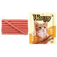 Wanpy Cat лакомство палочки из курицы 3х10 г