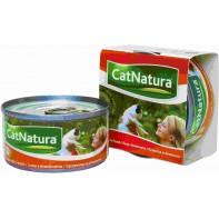 Cat Natura консервы для кошек тунец с персиком 85г СКИДКА 75%