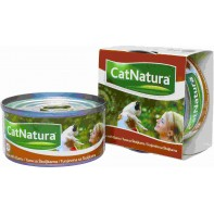 Cat Natura консервы для кошек тунец с моллюском 85г СКИДКА 75%