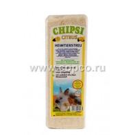 Chipsi Citrus АКЦИЯ Наполнитель древесный ароматизированный для грызунов 15л*1кг