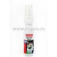 Беафар 13560 Spot On Spray Спрей д/кошек от блох и клещей 150мл