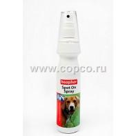 Беафар 13561 Spot On Spray Спрей д/собак от блох и клещей 150мл