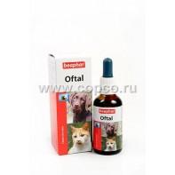 Беафар 12547 Oftal Лосьон для ухода за глазами у кошек и собак 50мл