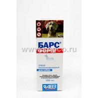 Барс ФОРТЕ Спрей д/собак инсектоакарицидный на фипрониле 100мл